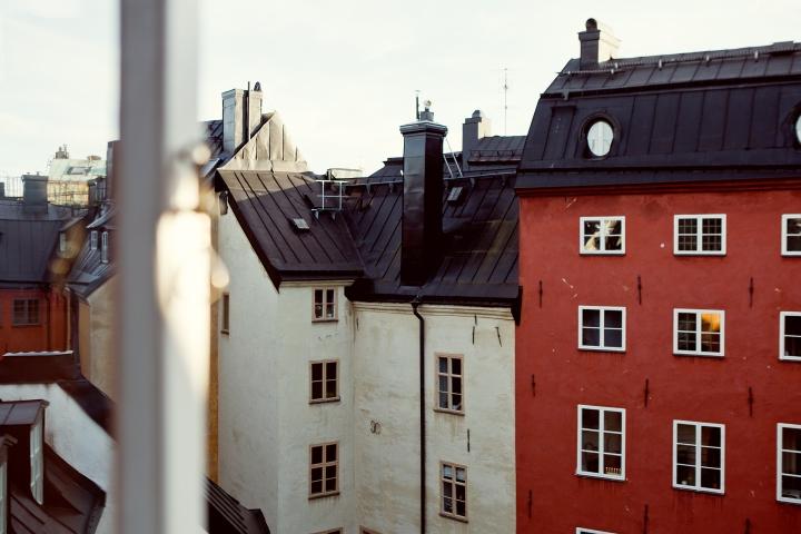 köpmanngatan gamla stan view colours old town Fantastic Frank