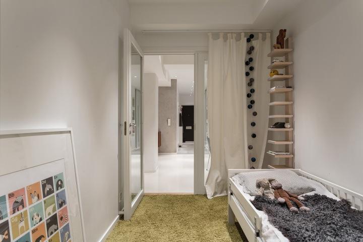dalagatan kids room owl monkey carpet Stockholm Fantastic Frank