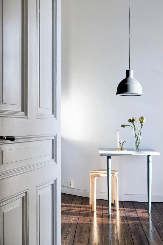 Frejgatan Vasastan kitchen grey flower spegeldörr Stockholm Fantastic Frank
