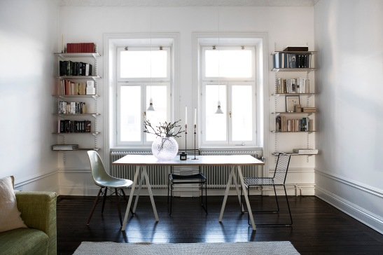 Frejgatan Vasastan Livingroom Hay Svenskt Tenn Black white Stockholm Fantastic Frank