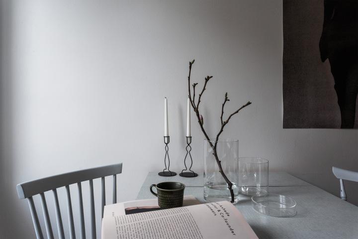 Katarina Bangata Södermalm kitchen details grey paper pinnstol Fantastic Frank