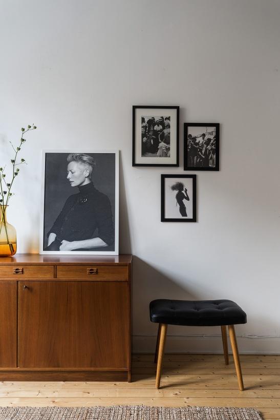 Katarina Bangata Södermalm teak tilda swanton prints brown white Fantastic Frank