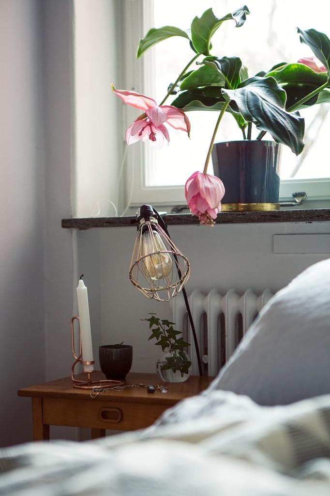 anders reimers retro brass copper flowers pink bedroom fantastic frank