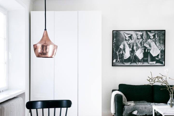 Bohusgatan livingroom art copper Fantastic Frank