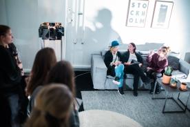 Soffhäng med Emma Wallmen och Linnea Salmen