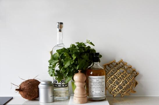 Igeldammsgatan details coconut parsley Fantastic Frank