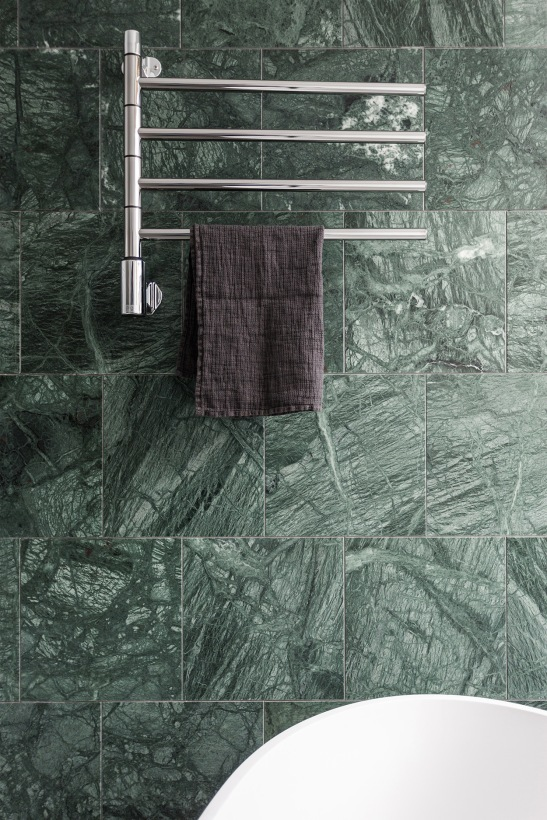 Södermalm Blekingegatan bathroom green marble terrass Fantastic Frank