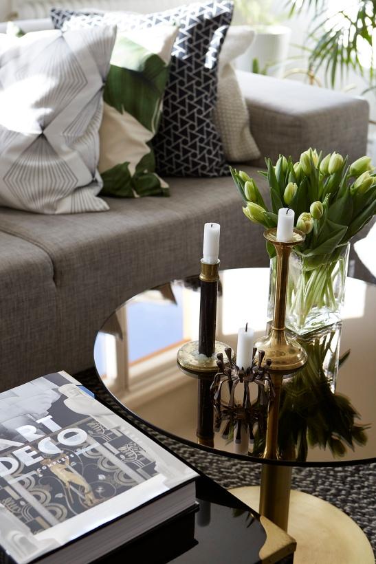 table tulips art deco sofa livingroom Fantastic Frank