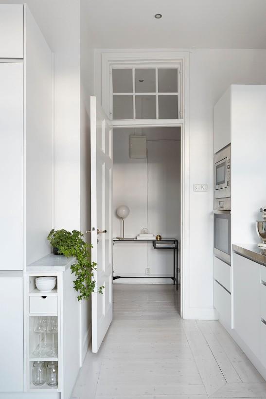 Torsgatan kitchen white hallway Fantastic Frank