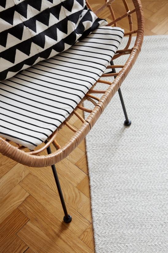 Högalidsgatan rotting stripes rutigt black white carpet fiskbensparkett fantastic frank