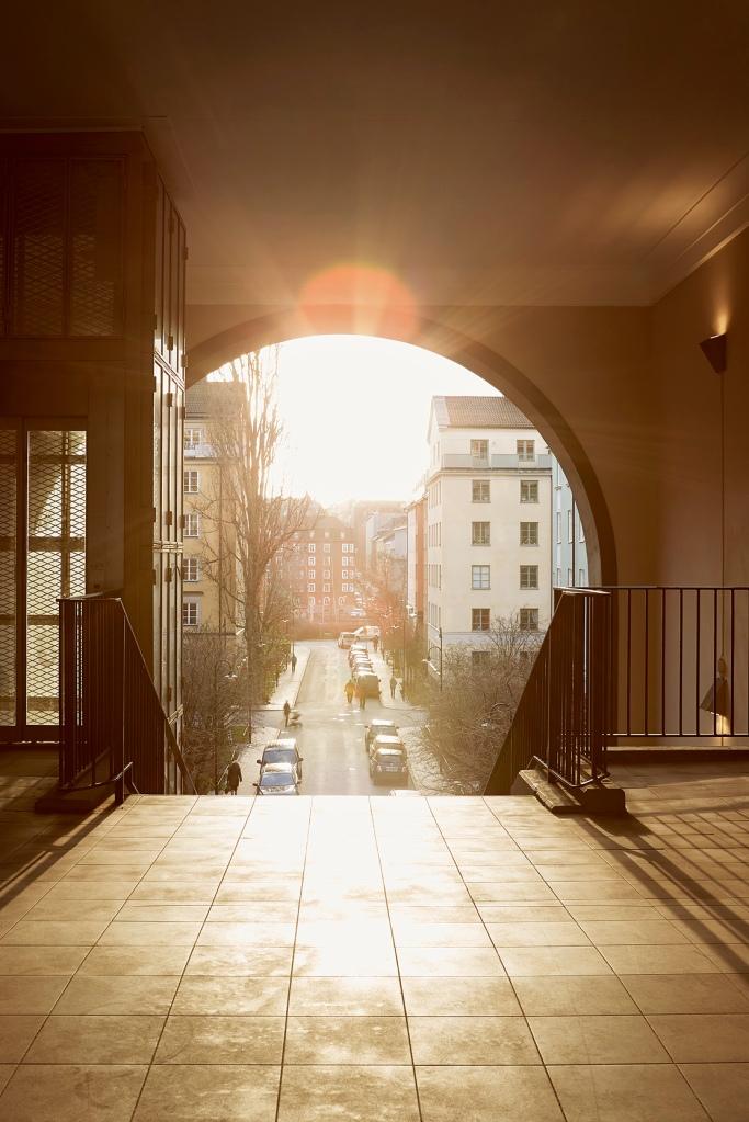 Vulcanusgatan atlasområdet 20kvadrat Josefin Hååg sun set stairs Fantastic Frank