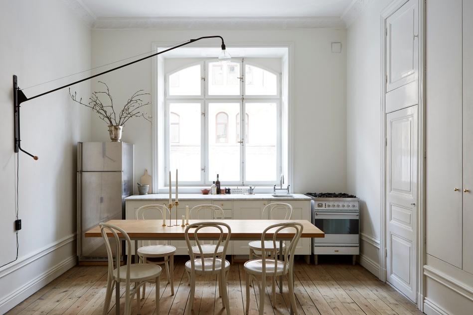 Birkagatan josefin hååg fantastic frank kitchen wall lamp redwood thonet