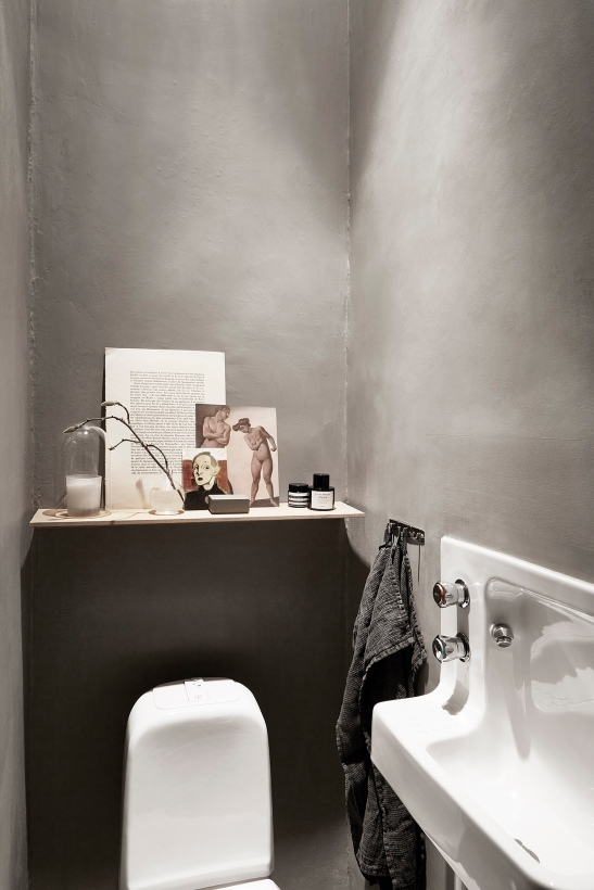 Birkagatan josefin hååg fantastic franktoilet wc concrete