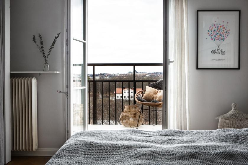 Heleneborgsgatan therese_winberg_photography_stylist_josefin_haag hååg fantastic frank bedroom view balcony top floor