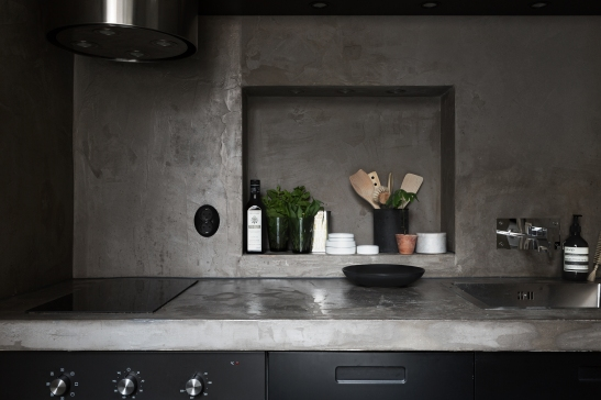 kapellgränd fantastic frank black kitchen concrete therese_winberg_photography_stylist_josefin_haag