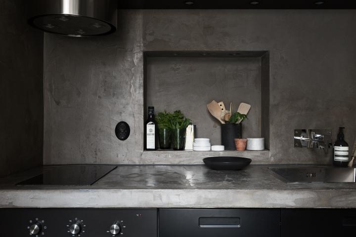 kapellgränd fantastic frank black kitchen concrete therese_winberg_photography_stylist_josefin_haag