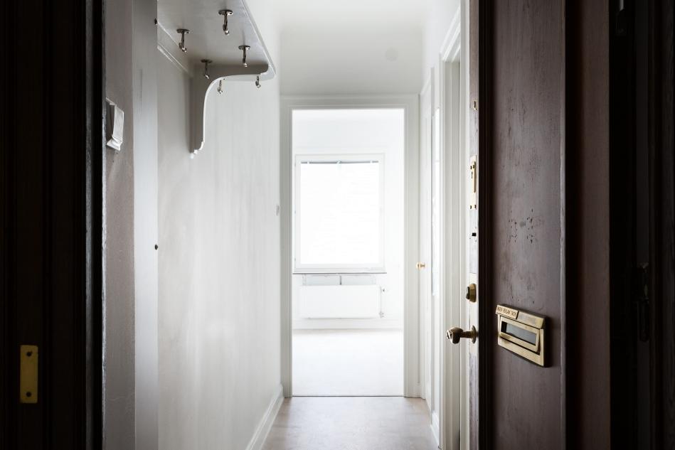 sveavägen fantastic frank therese winberg hallway brass light