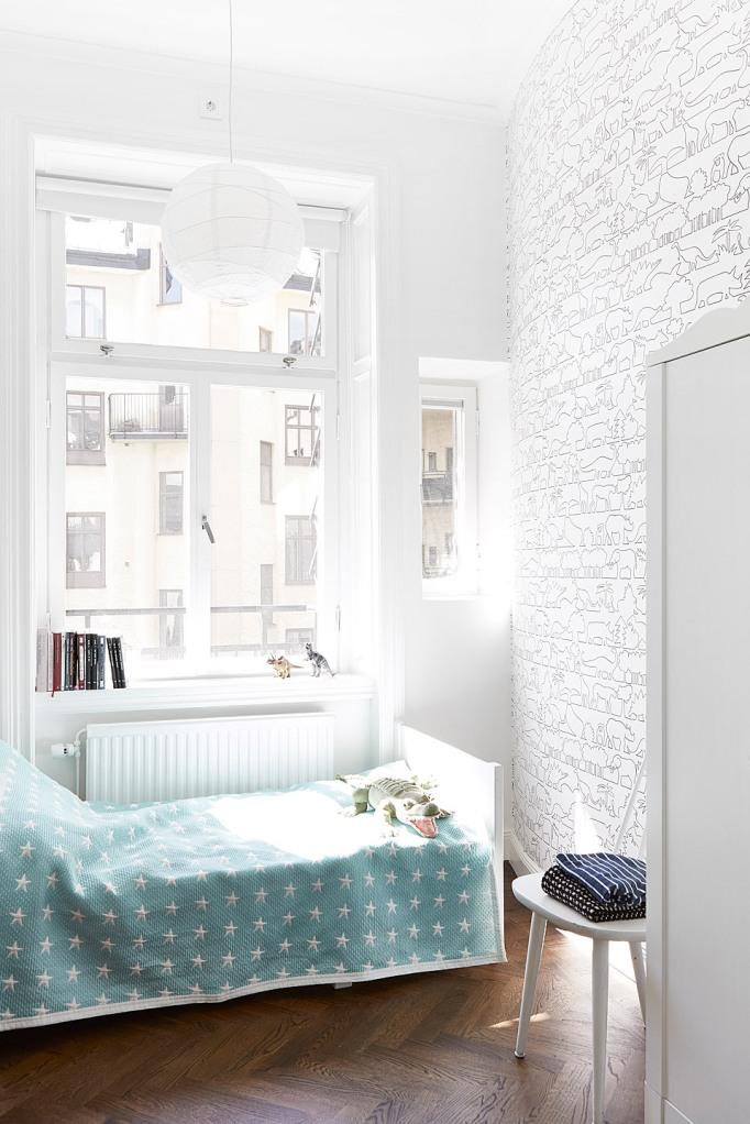 Vegagatan 17 Anna Malmberg Emma Wallmén fantastic frank kids bedroom wallpaper